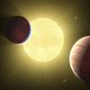 Kettõs bolygórendszert talált a Kepler