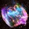 Ritka robbanás hozhatta létre galaxisunk legfiatalabb fekete lyukát