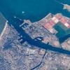 A Szuezi-csatorna északi vége