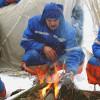 Téli túlélési kiképzés ûrhajósoknak