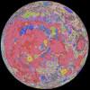 A Hold geológiai térképe