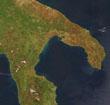A Tarantói-öböl – Ûrfelvétel az ELTE mûholdvevõ állomásáról