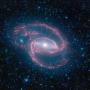 A Spitzer felvétele egy spirálgalaxisról
