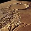 Bonyolult felszíni alakzat a Marson