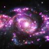 Spirálgalaxisok – ütközés közben
