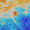 A Magellán-felhõk a Planck-szonda képén