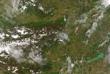 Tavaszodik itthon is - Ûrfelvétel az ELTE mûholdvevõ állomásáról