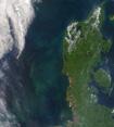 A Jütland-félsziget - Ûrfelvétel az ELTE mûholdvevõ állomásáról