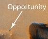 Az Opportunity – felülrõl!